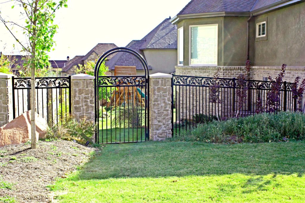wrought iron gate orem